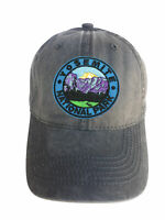 Yosemite National Park Adjustable Curved Bill Strap Back Dad Hat Baseball Cap