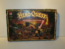 HEROQUEST BOARD GAME + RETURN OF THE WITCH LORD EXPANSION SET - UNPAINTED
