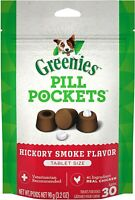 Greenies Pill Pockets Capsule Size Natural Dog Treats With Hickory Smoke Flavor