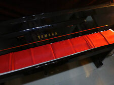 Piano keyboards cover red for 88 keys standard