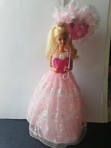 Dream Glow Barbie Mattel vintage luce di stelle ombrello 1985 superstar