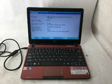 Acer Aspire One 722 AMD C-60 apu 1GHz 2gb RAM Laptop Computer -CZ