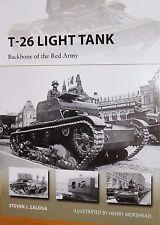 OSPREY: T-26 LIGHT TANK - BACKBONE OF THE RED ARMY