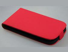 Flip Handy Tasche für Samsung i9300 Galaxy S3 Schutzhülle rot