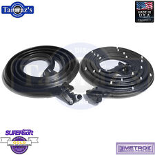 66-67 Chevelle Door Weatherstrip Seal 2 Door Hardtop Convertible LM12J USA MADE