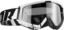 Thor MX Motocross Motorcycle Motorbike Enduro Goggles Sniper Barred Black White