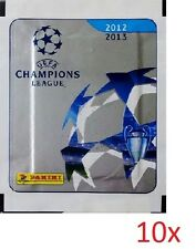 PANINI UEFA CHAMPIONS LEAGUE 2012-2013 STICKER 10 PACKETS NEW