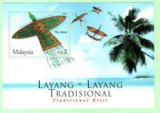 Malaysia 2005 Traditional Kites ~ M/S Mint