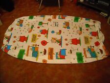 peanuts twin bedsheet from the 1970s