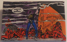 "Scourge Captain America MARVEL ""panel-pin"" ©1986 ~2""x3"" from the comic book art!"