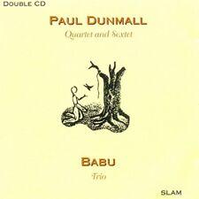 Paul Dunmall - Paul Dunmall Quartet and Sextet  Babu Trio [CD]