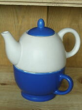 Teekanne und Tasse im Set ca. 330 ml