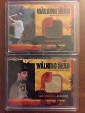 The Walking Dead Season 1 Wardrobe Card Lot of 2 Cards see pics read description