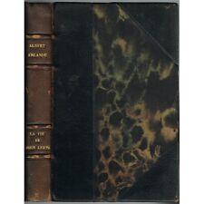 La VIE de JOHN KEATS par Albert ERLANDE Éd. Numérotée Gallimard 1928 N° F/21 E.O