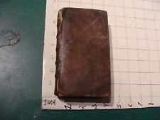 Vintage book: Pontificale Romanum Clementis Viii Primum 1683 original 686pgs