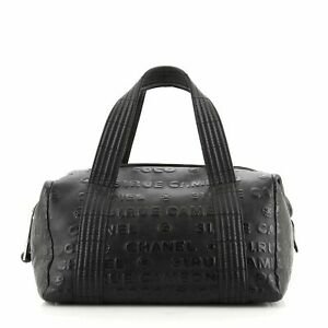 Chanel Unlimited Duffle Bag Embossed Calfskin