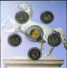 5 x 2 Euro Gedenkmünzen BRD Niedersachsen 2014 Sankt Michaeliskirche ADFGJ