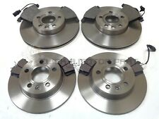 SEAT ALHAMBRA 2.0 TDi 2.0 05-10 FRONT & REAR BRAKE DISCS AND PADS (CHECK SIZE)