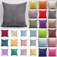"16"" 18"" 20"" 22"" 24"" 26"" 28"" Large Corduroy Cushion Cover Pillow Case Home Decor"