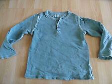 CLOSED cooles Granddadshirt blau eingefärbt Gr. 116 KJ1215