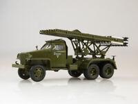 "Scale model 1:43, Studebaker US6 БМ-13 ""Катюша"""