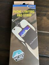 Universal Smartphone Case Cover Holder Cell Phone Lanyard Strap Card Pocket