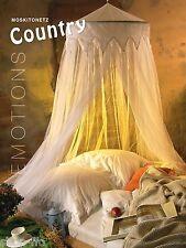 """Moskitonetz """"COUNTRY"""" weiß 12,5x2,5m Betthimmel Baldachin  Mückennetz Doppelbett"""