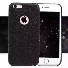 Coque Silicone Semi Rigide Brillant Strass Bling Bling Noir Black Iphone 5 5S