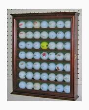 49 Golf Ball Display Case Cabinet Holder Rack w/ UV Protection GB49-WA
