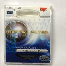 Genuine Kenko High Quality 58mm Circular PL Filter