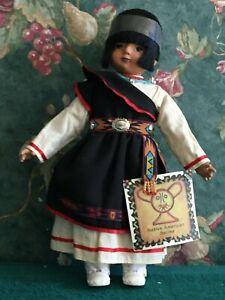 Sandy Dolls Native American series 12'' Tall. Item # 136, no original box