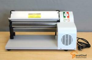 "14,5""Dough Sheeter Fondant Pizza Roller Tortilla Pasta Maker Machine. Electric"