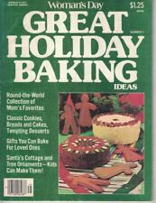 Great Holiday Baking Woman's Day 1977 Service Series Number 1 Special Issue