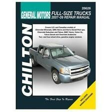 Chilton Repair Manual Chevrolet Full-size Trucks, 2007-12  #28626