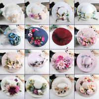 Vintage Women/Ladies Wedding Party Bridal Formal Hat Veil Prom Evening Cap New