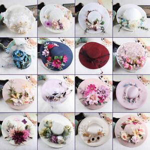 Vintage Women/Ladies Wedding Party Bridal Formal Hat Veil Prom Evening Cap New