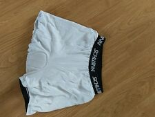 schwinn padded white shorts size 8, cycling sports, fitness, exercise