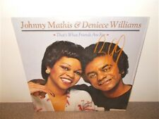 Johnny Mathis & Denise Williams . That's What Friends Are For . LP