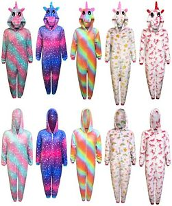 Unicorn 1Onesie Womens Pyjamas Ladies Sleepsuit Animal Adult Jumpsuit Costume