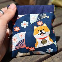 Japanese Cotton&Linen Coin Purse Change Purse Hand-made Bag Key Gadget Bag