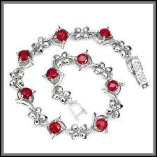 Handmade Ruby Sterling Silver Fine Jewellery