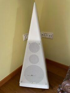 Master Music Preference High End Lautsprecher Pyramide Audio weiß