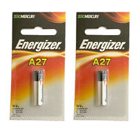 2x Energizer A27BP Alkaline 12V Battery A27 G27A MN27 L828  FAST USA SHIP
