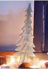 Impressionen Christ, Weihnachts Deko Tannenbaum Größe wählbar weiß Landhaus NEU