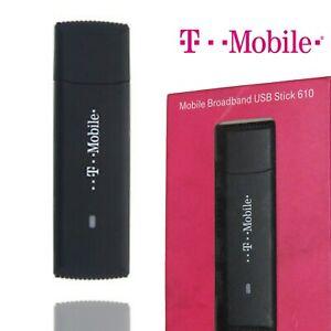 T-Mobile USB Stick 610 Wireless Modem Mobile Broadband Router 3G Laptop Internet