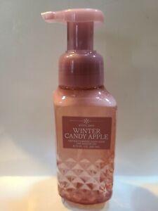 Bath & Body Works Foaming Hand Soap 8.75 fl oz Winter Candy Apple white barn
