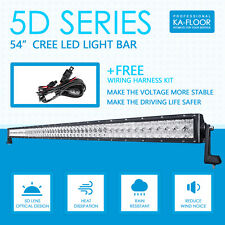 5D 54inch 1040W CREE LED Work Light Bar Combo Offroad Truck Boat Jeep 4WD ATV 52