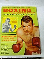 Boxing Illustrated September 1961 Ingemar Johansson