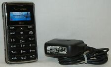 LG EnV2 Verizon Full Qwerty Slide-out Keyboard VX9100 Phone BLACK 2MP Camera -C-