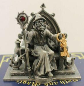 Master of the Dungeon Myth & Magic Tudor Mint Rare Figure Pewter 3885